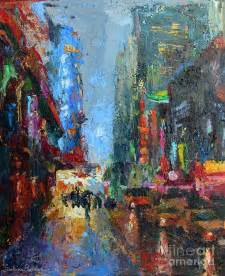 New York City Streets Painting