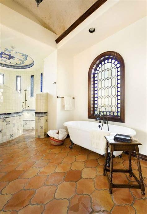 mexican bathroom ideas mexican decor saltillo tiles in a lovely bathroom