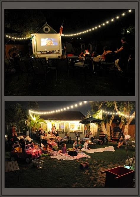 The Backyard Documentary by Backyard String Lights From The Ends Of The