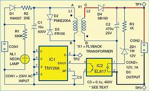 Simple 1a  12v Smps