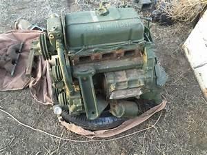 3-53 Detroit Diesel Engine With Gm Bell Housing