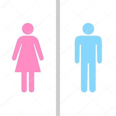 signe de toilettes homme et femme symbole de toilettes image vectorielle yayha 169 63446769