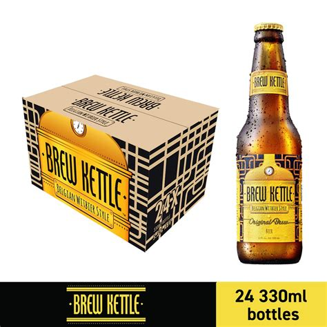 shopee 330ml brew kettle bottles