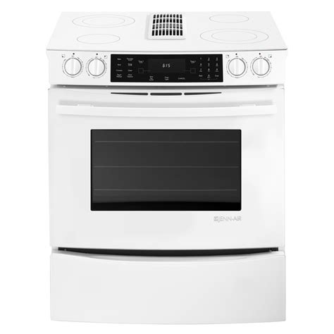 jenn air 30 quot slide in electric downdraft range w convection shop your way shopping