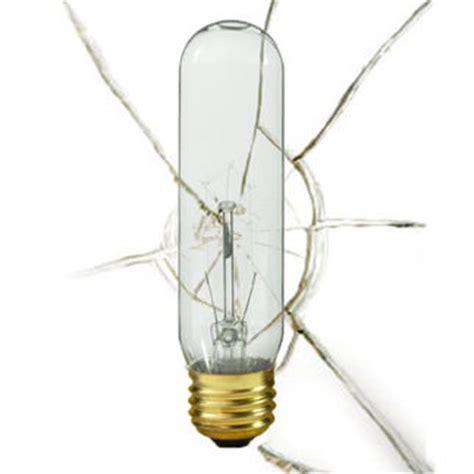 40w shatter resistant t10 incandescent bulb 130v