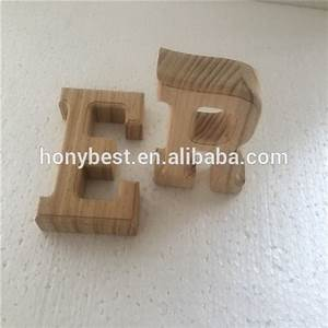free standing large plain pine finish wood alphabet With giant wooden letters for sale