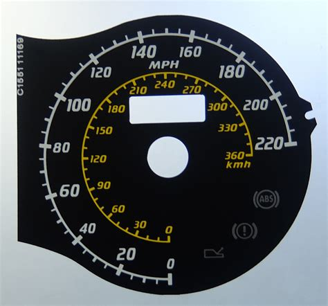 430 Kmh To Mph by F430 Scuderia Kmh Mph Speedo Meter Clocks Dials