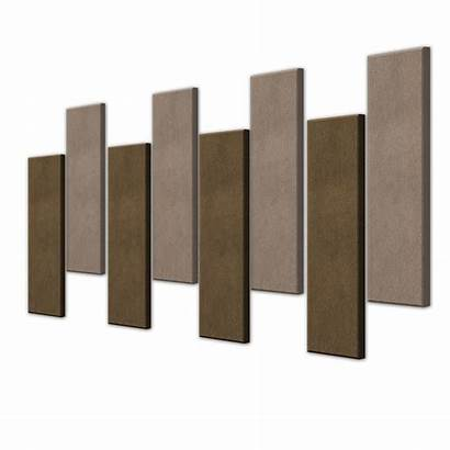 Panels Acoustic Sound Noise Absorption Kumas Kapli
