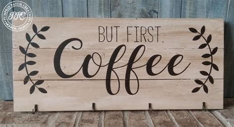 Shipping times may vary as a result of an increased volume of parcels due to peak periods, especially christmas. But First Coffee Sign | 1000 en 2020 | Decoración de repisas, Letreros de madera, Decoracion ...