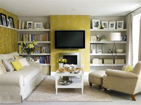 wallpaper for livingroom yellow room interior inspiration 55 rooms for your viewing pleasure