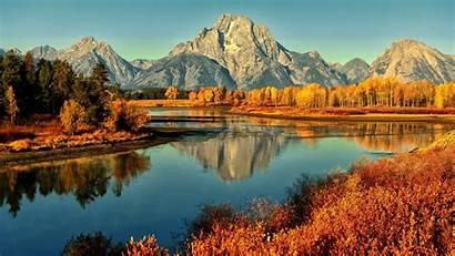 Autumn Desktop Mountains Trees Mountain Wallpapers Spring