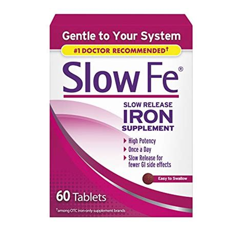 buy slow fe slow release iron supplement  tablets
