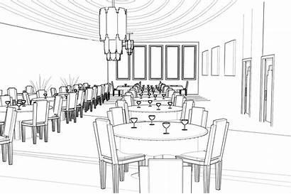 Restaurant Dining Bar Harlow Perspectives Lyla