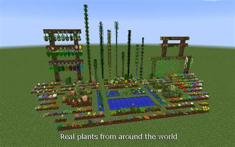 overview plant mega pack mods projects minecraft