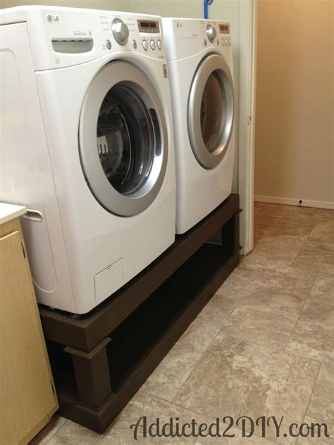 Diy Laundry Pedestal  Addicted 2 Diy