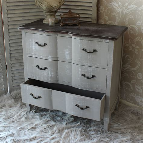shabby chic wooden furniture french grey vintage style chest drawers home bedroom furniture wood shabby chic ebay