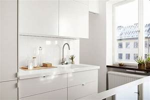 decordots white modern kitchen With kitchen colors with white cabinets with modern 3d wall art