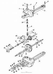 Mtd 13ac560b000  1998  Parts Diagram For Transaxle Assembly