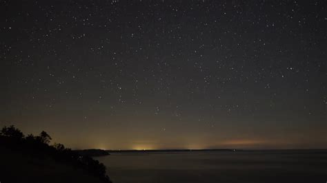 perseids meteor shower  startrails time lapse