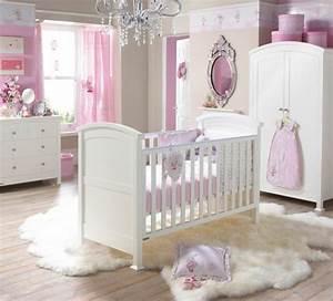 Chambre Bébé Fille : deco de chambre de bebe fille ~ Teatrodelosmanantiales.com Idées de Décoration