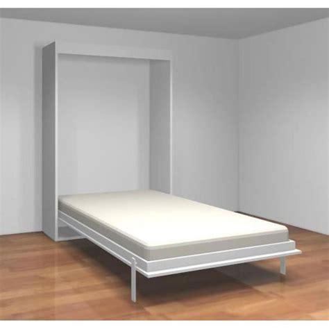 lit bureau ikea cuisine teo armoire lit escamotable cm blanc mat achat