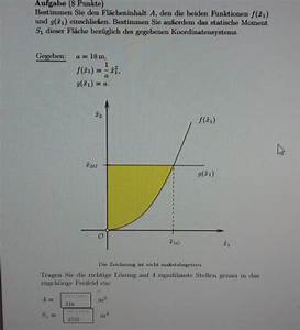 Schwerpunkt Berechnen Physik : statisches statisches moment s1 von 2 funktionen ~ Themetempest.com Abrechnung