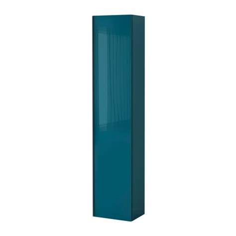 Armoire Godmorgon Ikea by Godmorgon High Cabinet High Gloss Turquoise Ikea