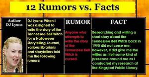 12 Rumors vs Facts about TN Bell Witch