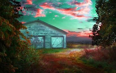 Farm Barn Wallpapers Nature 4k Desktop Backgrounds