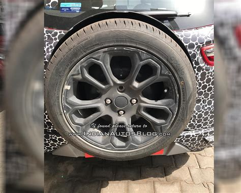 2018 Ford Ecosport Configurations by 2018 Ford Ecosport With Restyled Bumper Spare Wheel