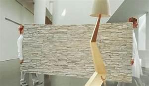Fausse Pierre Murale Intérieur : des rev tements muraux fa on pierres plus vrais que nature ~ Preciouscoupons.com Idées de Décoration