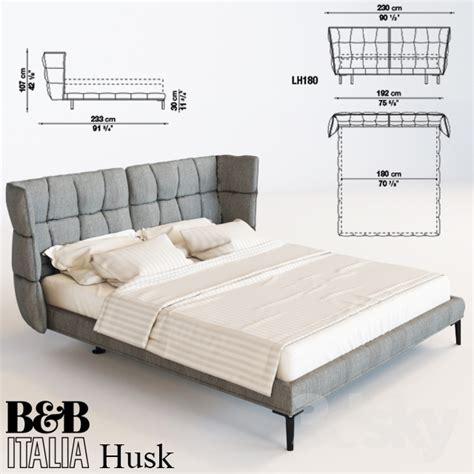 B B Italia Bett by 3d Models Bed Bed B B Italia Husk