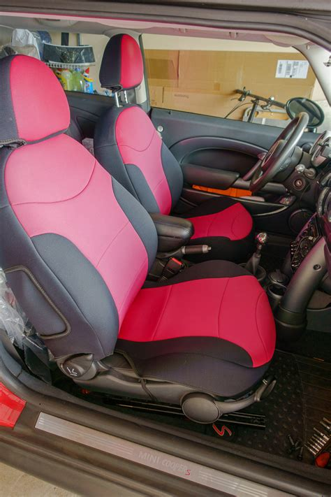 fs coverking neoprene seat cover set leather front