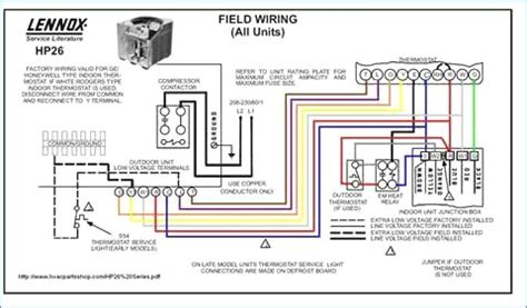 goodman heat package unit wiring diagram wiring collection