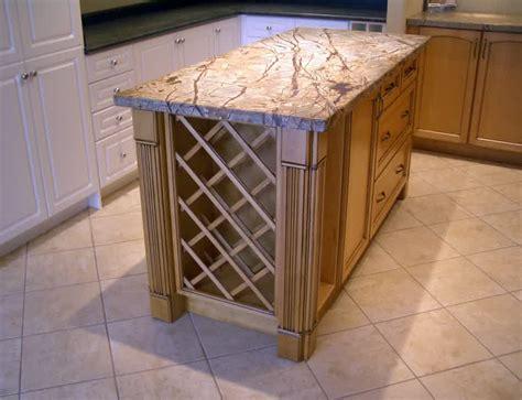 kitchen islands with wine rack kitchen island with wine rack design options homesfeed