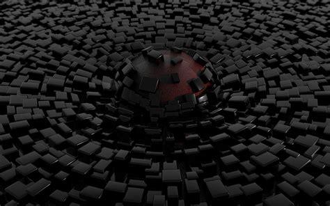 The medium is gouache and cut paper on paper. Black 3D Wallpapers | PixelsTalk.Net