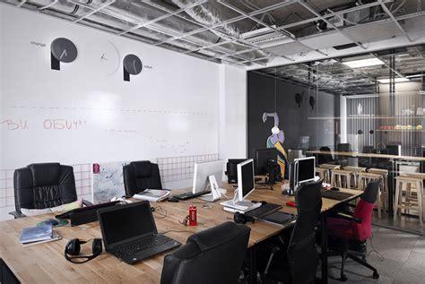 advertising agency office  cache atelier interiorzine