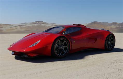 ferrari f80 prototype ferrari f concept cars pictures