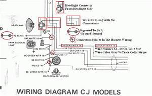 1974 Cj5 Wiring Diagram