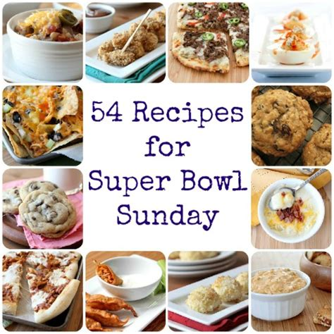 what to make for bowl sunday 54 recipes for super bowl sunday baked by rachel