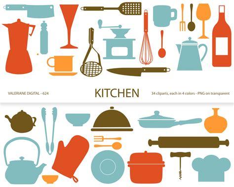 Clip Cucina by Kitchen Clipart S Retro Kitchen Utensils Scrapbook