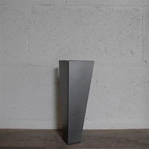 Pied De Table Metal Industriel : pied de table basse style industriel 30cm ref vest30 ~ Dailycaller-alerts.com Idées de Décoration