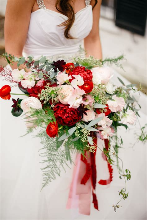 red  blush wedding  meridian house holly chapple