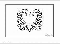 Malvorlage Albanien Ausmalbild 6364