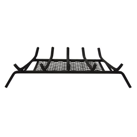 Fireplace Grates Lowes - shop landmann usa 1 2 in steel 27 in 5 bar fireplace grate