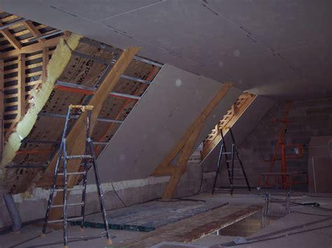 poncer un plafond en placo notre maison en autoconstruction placo de l 233 tage plafond rant suite
