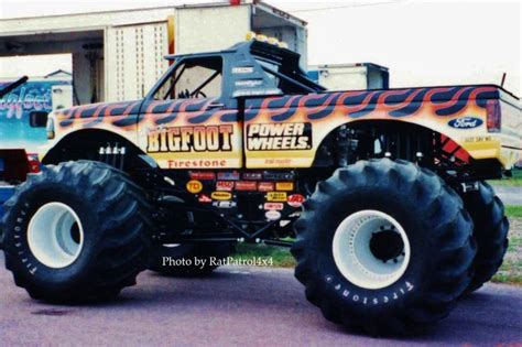 Power Wheels Bigfoot The 1st Monster Truck Pinterest