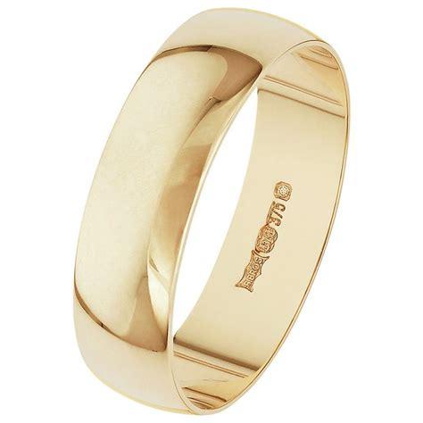 buy 9ct gold 5mm d shape wedding ring at argos co uk your online shop for men s wedding rings