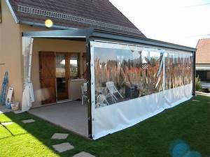 Bache Transparente Pour Terrasse : bache veranda bache veranda sur enperdresonlapin ~ Dailycaller-alerts.com Idées de Décoration