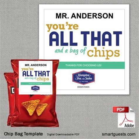 custom chip bag template 99 best images about smartguest products on custom housekeeping and